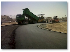 Dewa 100MW Solar Power Plant - ( Road & Interlock Pavement works) .