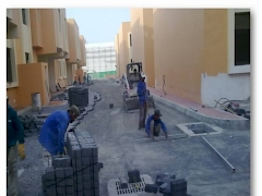 Low Coast Housing Project  - Interlock works