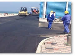 Marine Research Center - Road Works