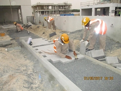 Mohammed Bin Rashid Al Maktoum City District 1 - Installation of Pavers & Kerbs